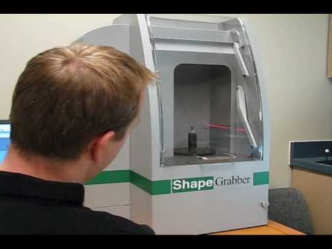 Industrial Applications of Small Automated 3D Scanner