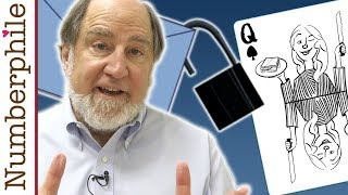Dealing Cards with Cryptography (with Ron Rivest) - Numberphile