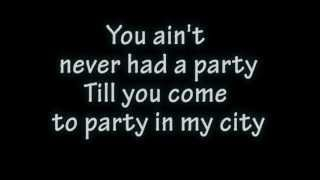 Priyanka Chopra Ft. will.i.am- In my city [OFFICIAL LYRICS]