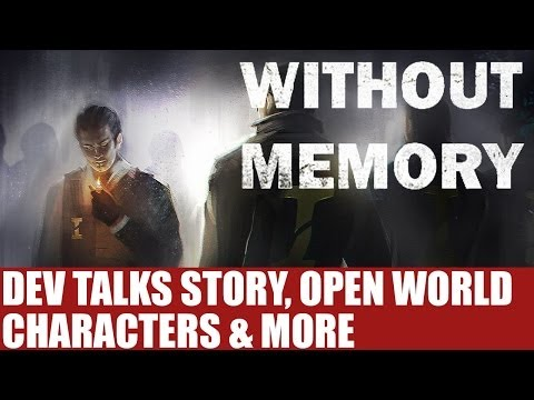 Without Memory News - Studio Founder Details Open World Main Character Story & More - Info