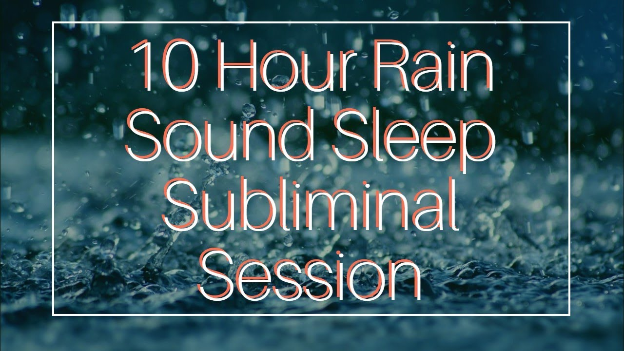 Say No To Junk Food Addiction – (10 Hour) Rain Sound – Sleep