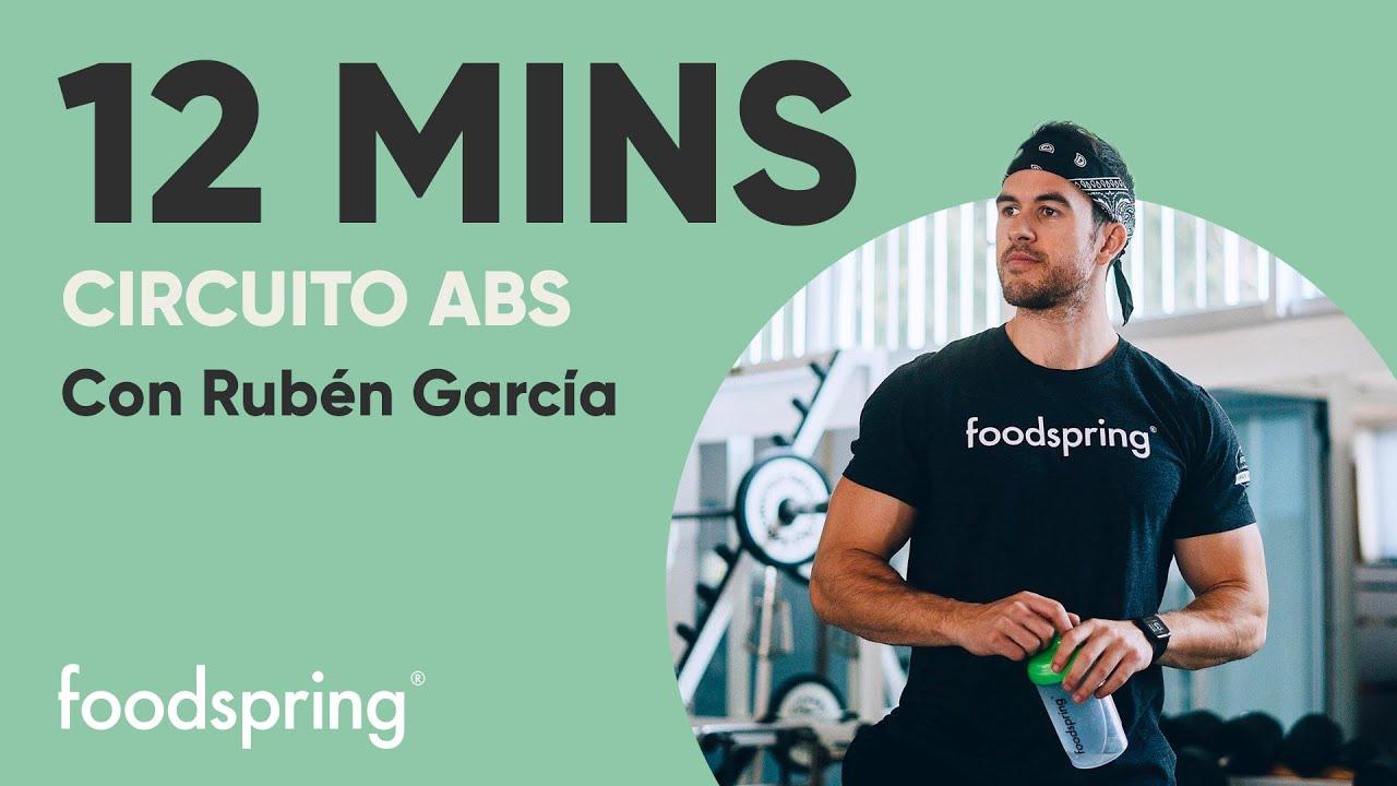 12 minutos | Circuito ABS | Con Rubén García | foodspring®