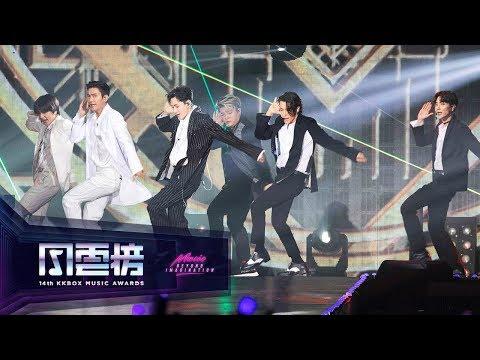 SUPER JUNIOR – Black Suit / Sorry, Sorry / Bonamana ( 14th KKBOX Music Awards Artist of the Year)