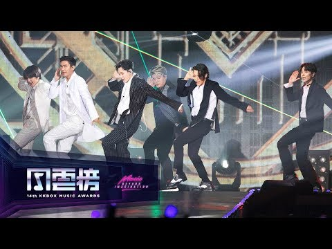 SUPER JUNIOR – Black Suit / Sorry, Sorry / Bonamana ( 14th KKBOX Music Awards Artist Of The Year)