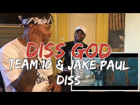 Diss God - Team 10 & Jake Paul Diss Track (Official Music Video) - REACTION