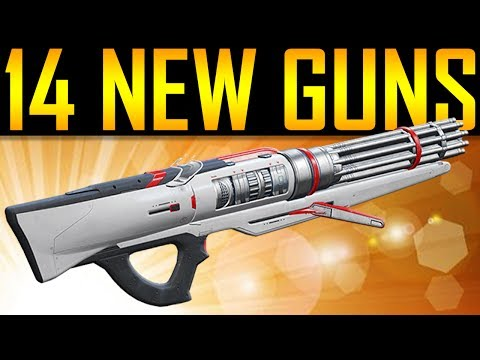 Destiny 2 - 14 NEW GUNS!