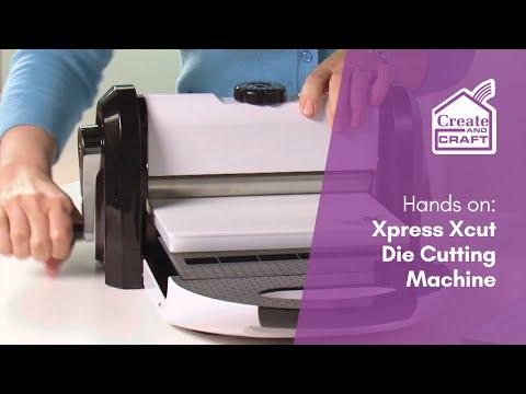 XCut Xpress Machine - Making the first cut