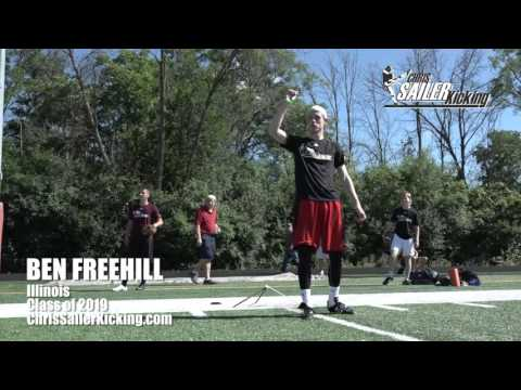 Ben Freehill - Kicker