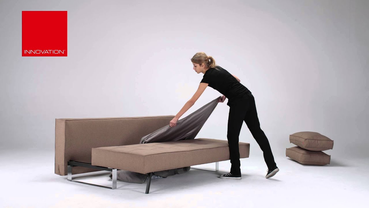 Schlafsofa mit bettkasten 140x200  Innovation Schlafsofa Supreme Deluxe mit Bettkasten - YouTube