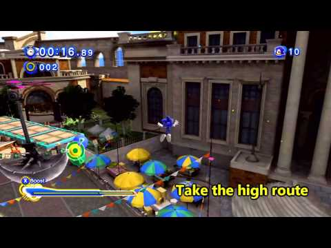 Sonic Generations Crisis City Act  Red Rings
