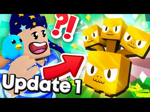 Pet Simulator 2 Update 1 Confirmed - FREE VIP GOLDEN PETS NEW WORLD And MORE! (Roblox)