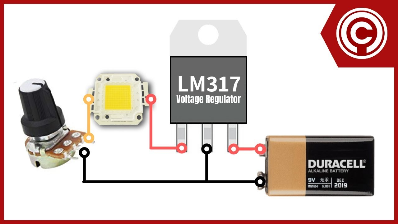 lm317 led dimmer [ 1280 x 720 Pixel ]