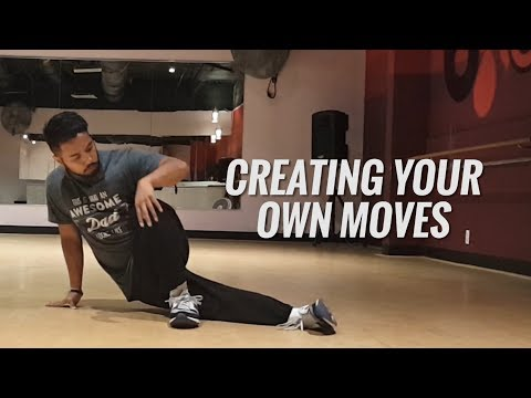Create Your Own Moves and Combinations | How To Breakdance For Beginners