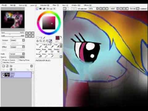 Speed paint cupcakes creepypasta my little pony echt zeit 2 stunden