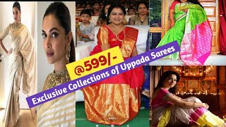 Most Welcome Resellers & Buyers ||New Models of Beautiful Pattu Uppada Sarees Purchase from Weaver's