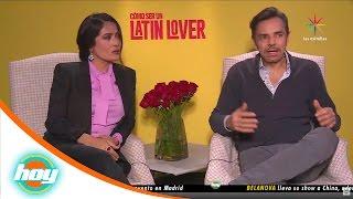 Salma Hayek y Eugenio Derbez, orgullo mexicano | Hoy
