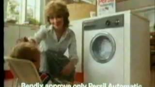 1986 - Persil Automatic & Bendix Washing Machine [Look Who's Talking]
