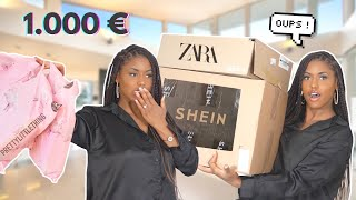 1.000 € DE SHOPPING : ALIEXPRESS, SHEIN, ZARA, PRETTYLITTLETHING 😭💸