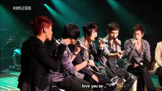 DBSK 동방신기 - In The Still Of The Night (a capella) [eng + karaoke sub]
