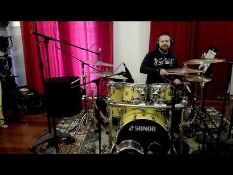 Prove suoni registrazione batteria con Ricky Roma per Umberto Tozzi