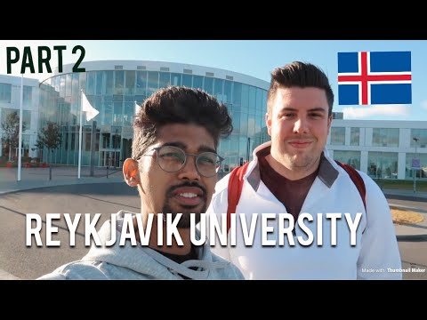 Campus Tour of Reykjavik University, Iceland (PART 2)