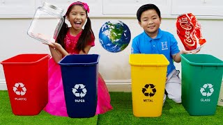 Clean Up Trash and Recycle Song | Wendy Sing-Along Nursery Rhymes and Kids Songs