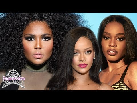 Azealia Banks drags Lizzo and clowns her weight! | Rihanna praises Lizzo