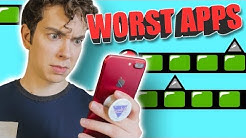 7 WORST MOBILE GAMES ON THE APP STORE!