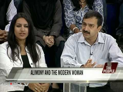 Alimony and the modern woman