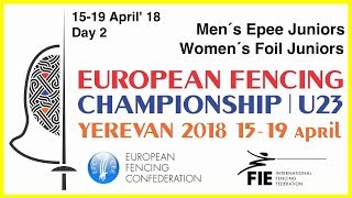 Day 02 2018 European fencing championships U23 - Yellow