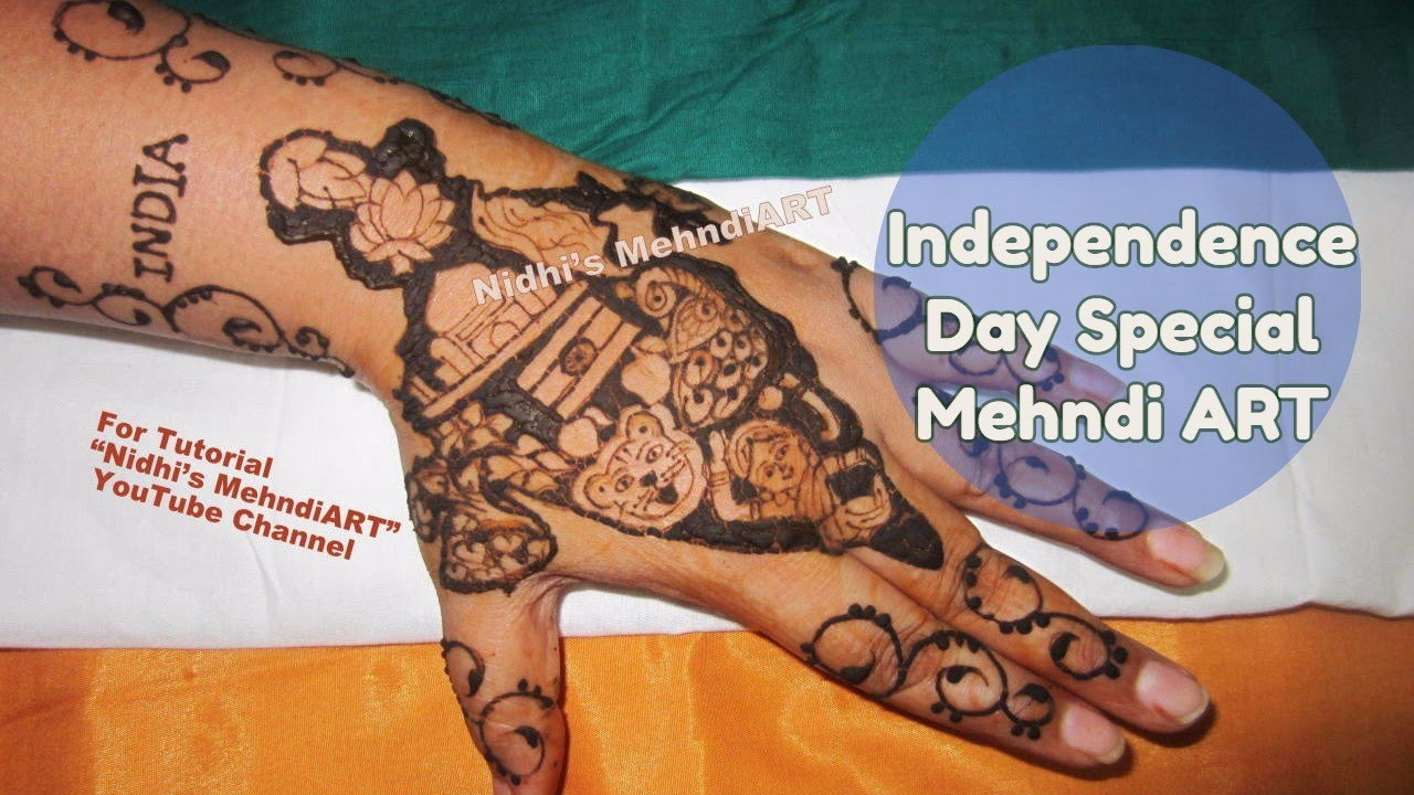 Mehndi Symbols Patterns And Meanings : Independence day special india map national symbols inspired