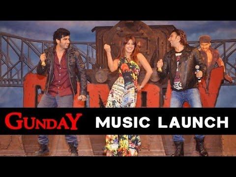 Priyanka Chopra, Ranveer Singh, Arjun Kapoor And Ali Abbas Zafar At 'Gunday' Music Launch Mp3