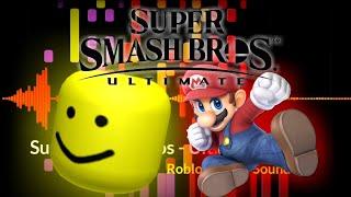 Super Smash Bros - Ultimare But It's Roblox Death Sound!!