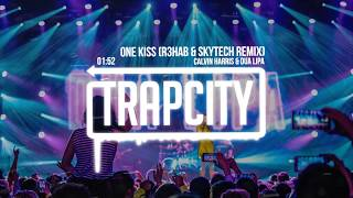 calvin harris dua lipa one kiss r3hab skytech trap remix lyrics