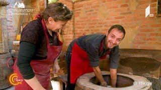 #გურმანია - რაჭული ლორი და ლობიანი
