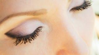 Смотреть видео как научиться красиво красить глаза видео