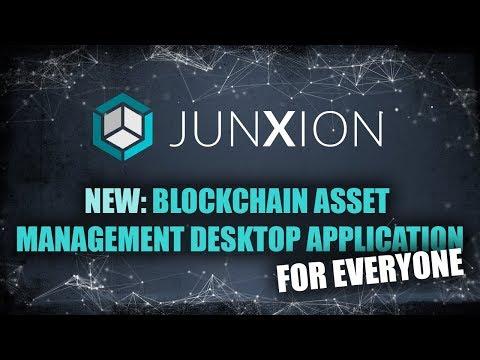 Junxion - Portfolio management desktop app built by me