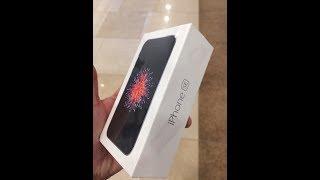 Купил новый iPhone SE 32GB.