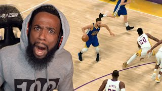 Stephen Curry Broke My Ankles! Lakers vs Warriors Game 2 & 3! MyCareer Ep 37