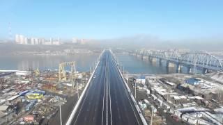 новый мост Красноярска