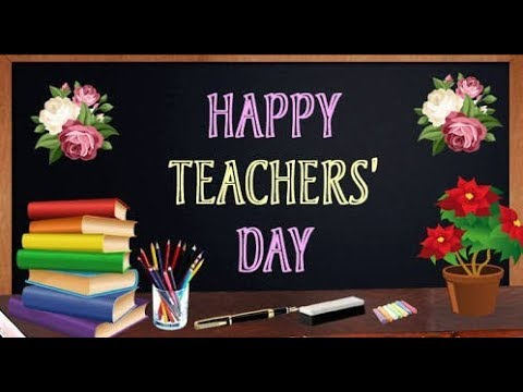 School Display Board Ideas On Teacher S Day Teachers Day Display