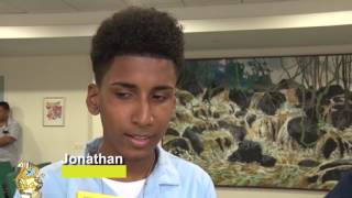 Het 10 Minuten Jeugd Journaal 10 juni 2016 (Suriname / South-America)