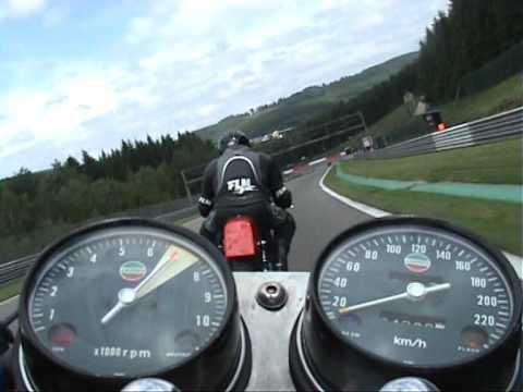 Bikers Classics 2010 - Sunday Morning - Spa Francorchamps Laverda 1000 3CL