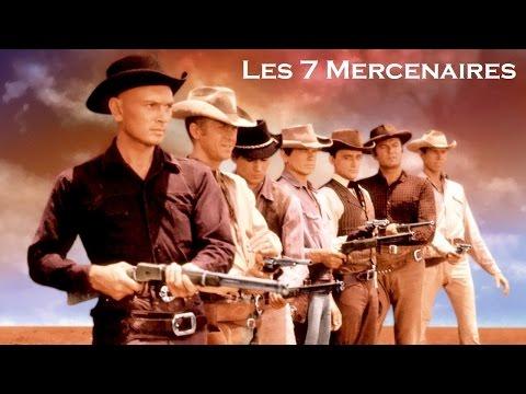 Les 7 mercenaires 1960 (The Magnificent Seven) - Film réalisé par John Sturges
