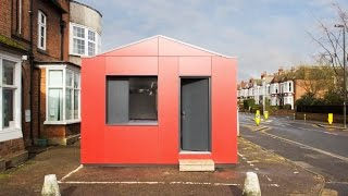 Richard Rogers' Stackable Y-cube Prefabs Provide Affordable Housing In The Uk