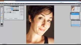 GiveFoto.ru - Быстрая ретушь кожи лица в онлайн Фотошопе