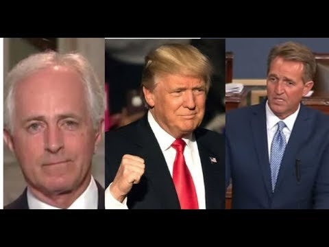 KILL SHOT You'll Laugh Your Ass Off When You See Trump's New Nickname For Bob Corker and Jeff Flake