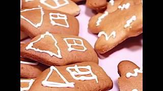 Рецепт новогоднего имбирного печенья | Медово-имбирное печенье