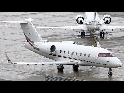 Два воробья во Внуково - Bombardier Challenger 600