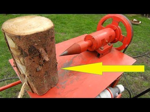 Łuparka Świdrowa DIY - Wood Screw Splitter in 4K NEW